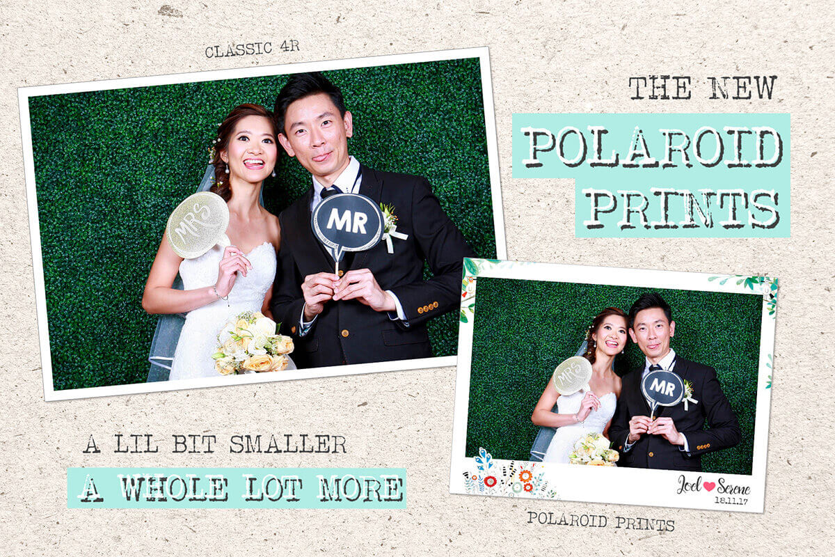 POLAROID PRINTS FOR PHOTO BOOTH AND ROVING PHOTOGRAPHY
