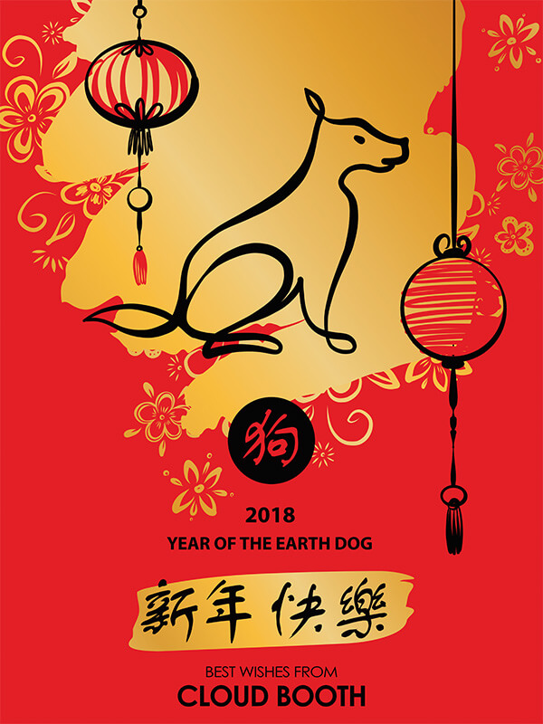 Photo Booth Singapore Chinese New Year 2018