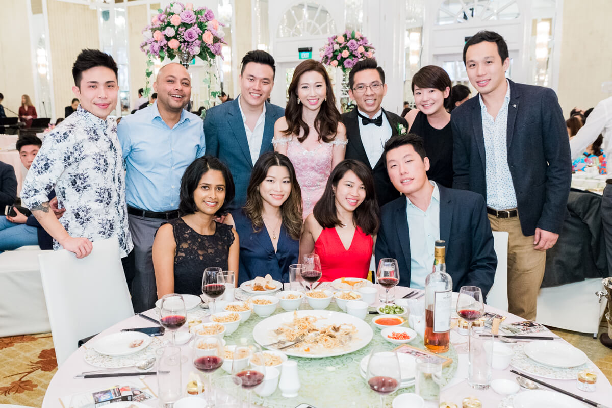 Table Shots Instant Print for Singapore Weddings
