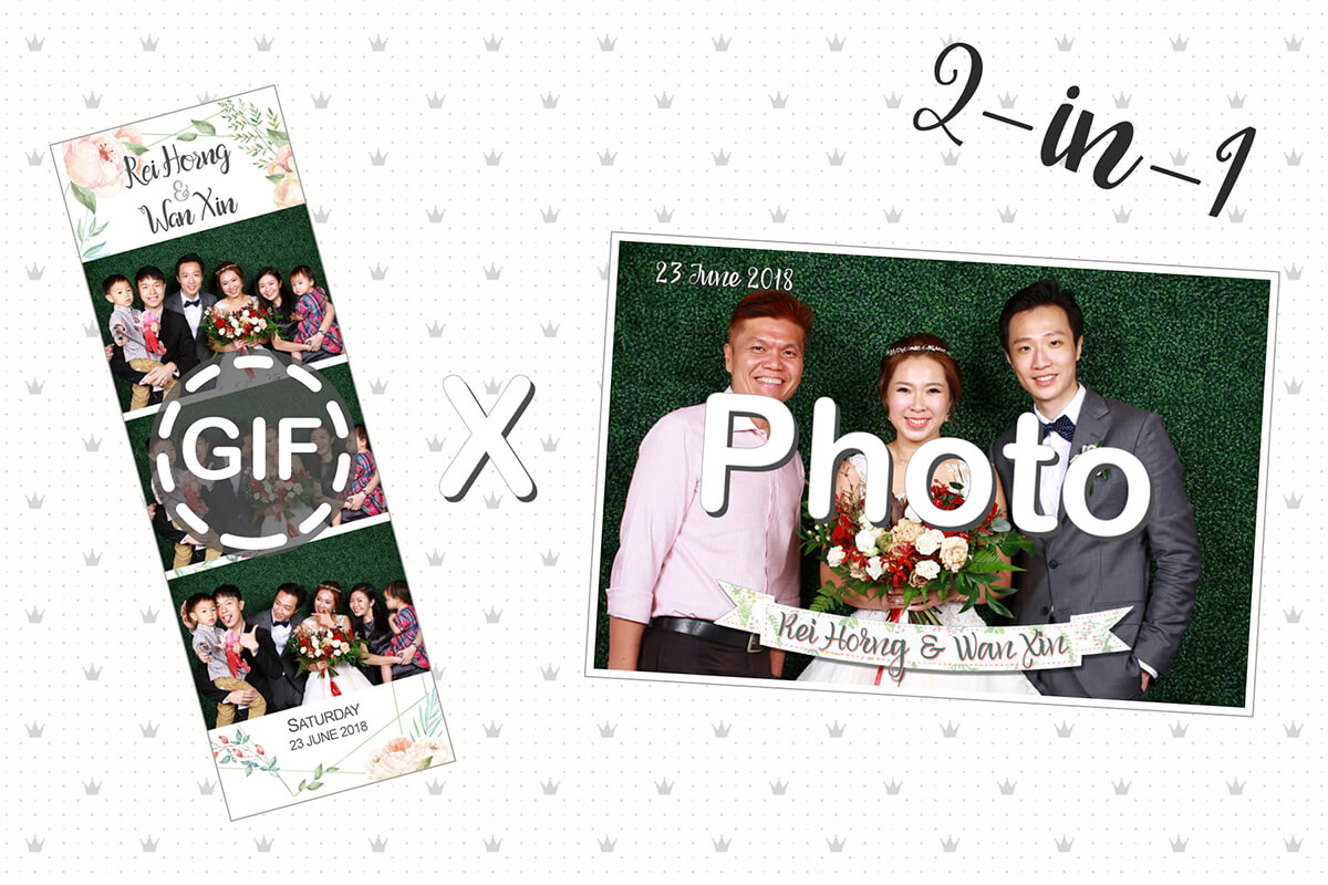 Cloud Booth GIF Edition Now Features GIF X Photo Dual Mode Booths!