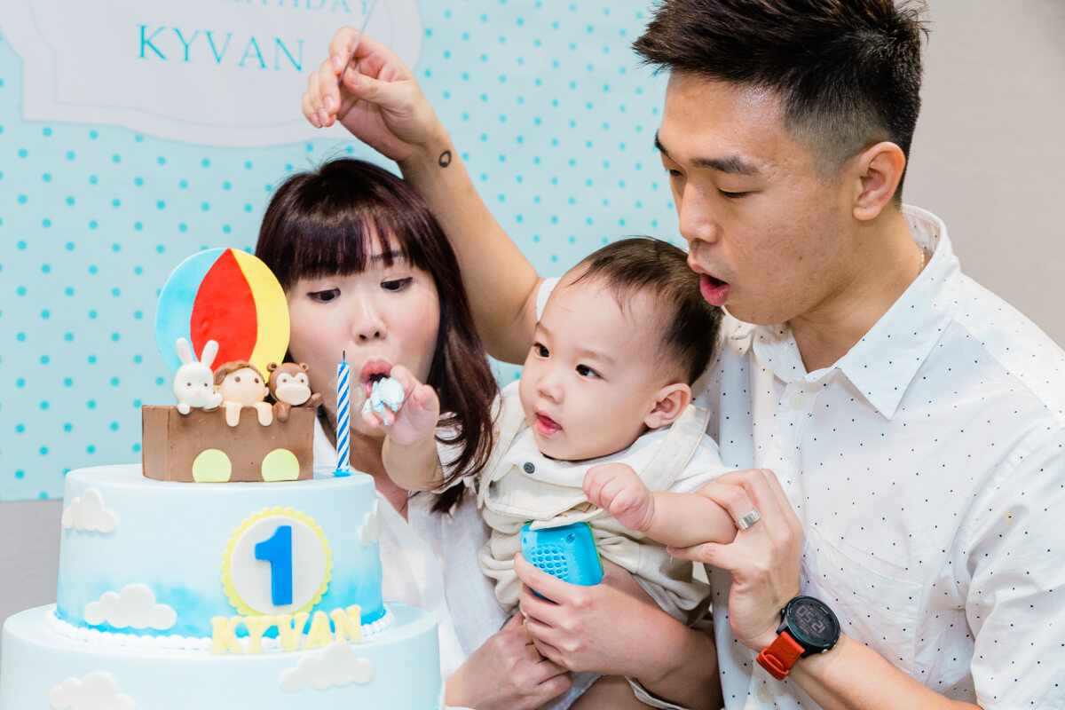 Event Photography for Little Kyvan's 1st Birthday Party