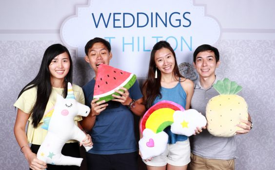 Cloud Booth Photo Booth at Hilton Singapore Wedding Showcase on 20 & 27 Oct 2018