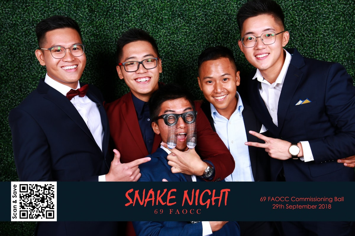 Snake Night – 69 FAOCC Commissioning Ball