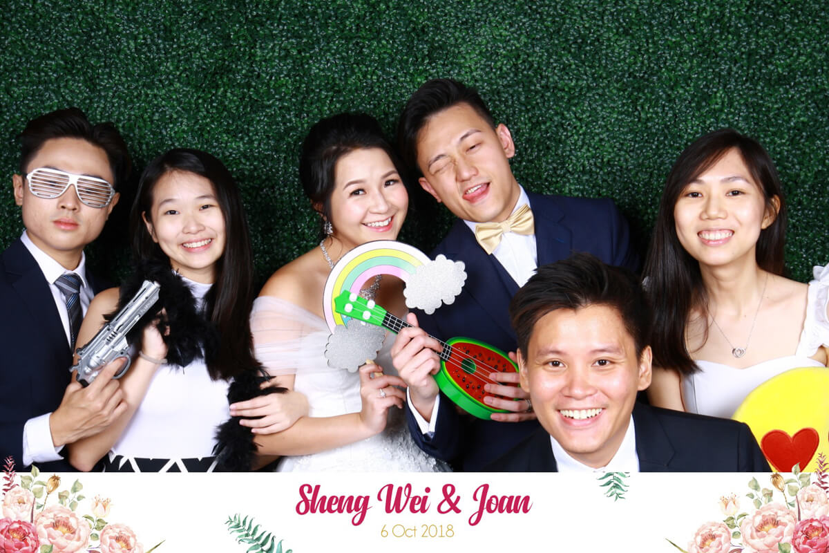 Sheng Wei and Joan's Wedding GIF X Photo Dual Mode Booth