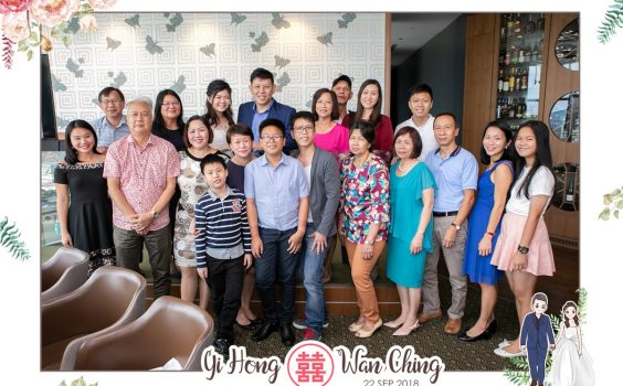Wedding reception of Yi Hong and Wan Ching @ Artemis Grill