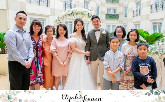 Wedding Celebration of Elijah & Jiawen at The Fullerton Hotel