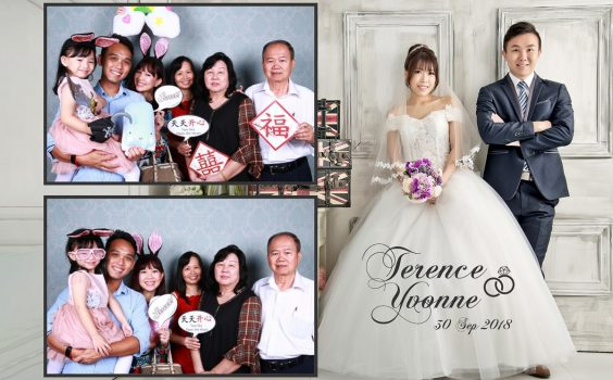 Wedding celebration of Terrance & Yvonne at Park Royal at Pickering