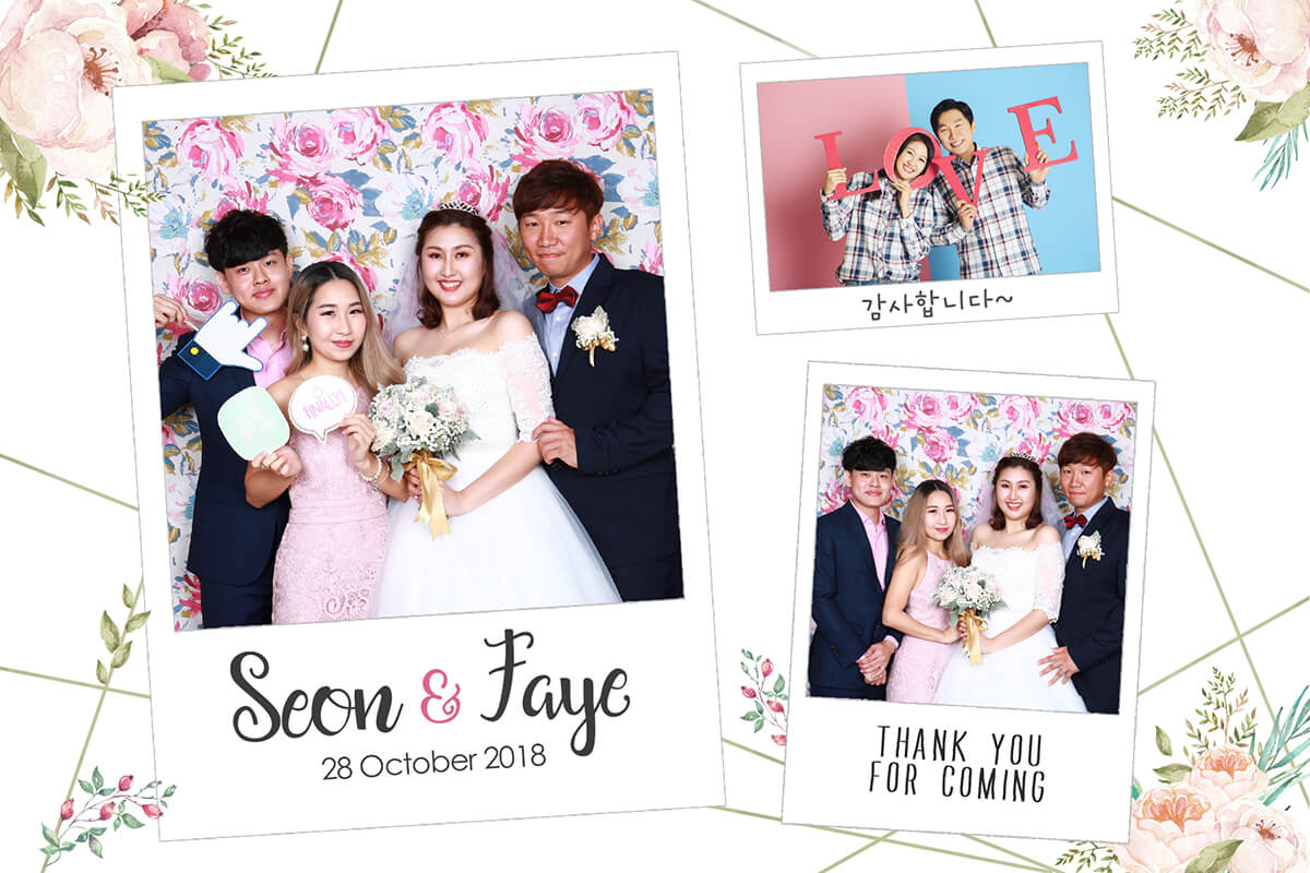 Faye and Seon's Wedding Reception at Holiday Inn