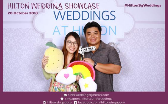 Hilton Wedding Showcase On 20 Oct and 27 Oct