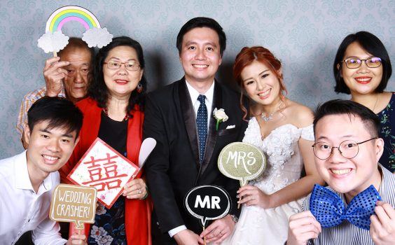 Zhenyi and Samantha's Wedding Banquet at Hilton Singapore