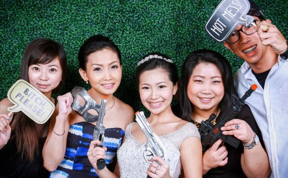 HOW A PHOTO BOOTH CAN VALUE-ADD TO YOUR WEDDING
