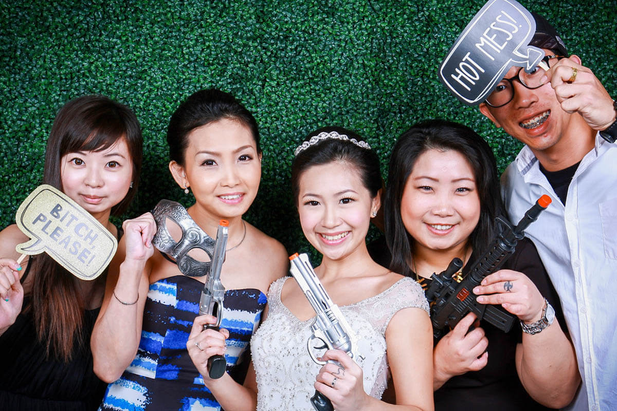 Photobooth For Wedding Singapore, Wedding Photo Booth Singapore