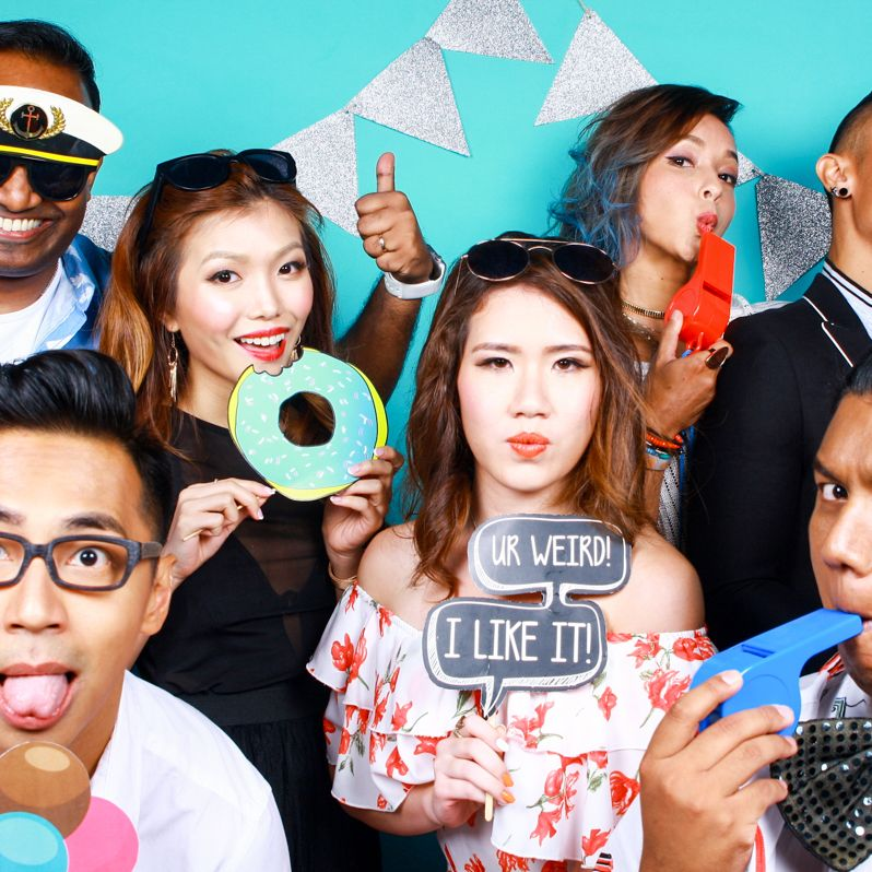 Cloud Booth: The Finest Photo Booths in Singapore